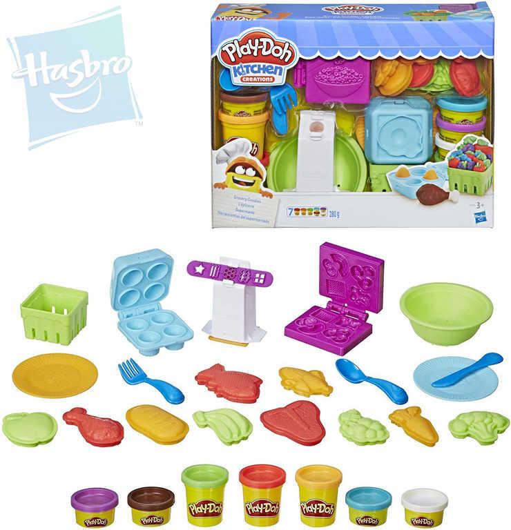 HASBRO PLAY-DOH Výroba potravin kreativní set s modelínou a tvořítky