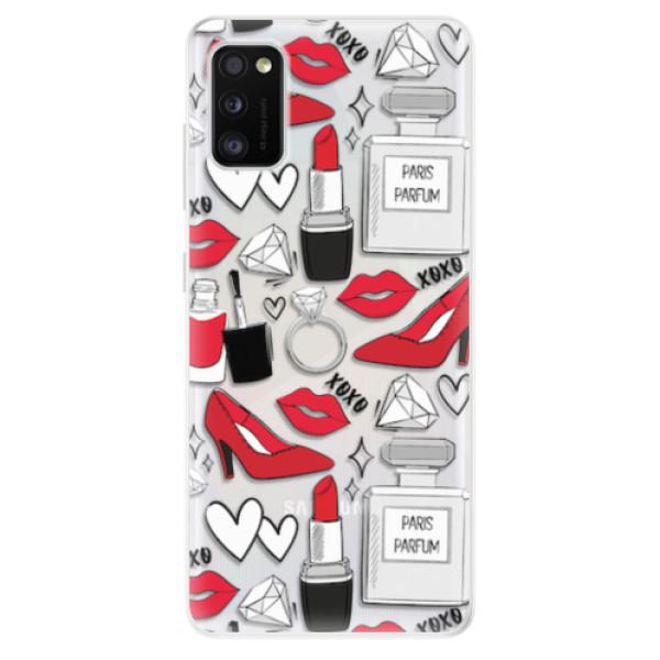 Odolné silikonové pouzdro iSaprio - Fashion pattern 03 - Samsung Galaxy A41