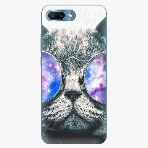 Plastový kryt iSaprio - Galaxy Cat - Huawei Honor 10