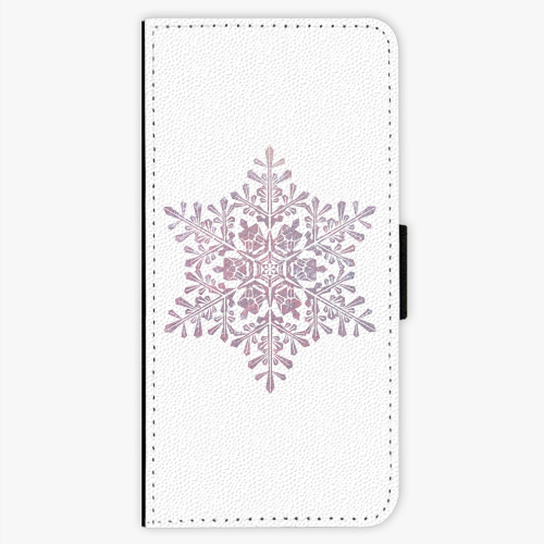 Flipové pouzdro iSaprio - Snow Flake - Samsung Galaxy S7 Edge