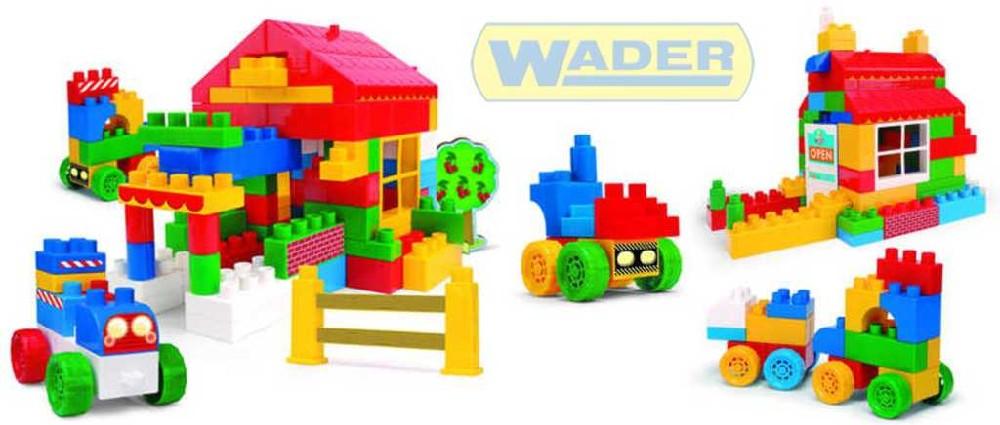 WADER Kostky Bobi Blocks 350 ks 80122