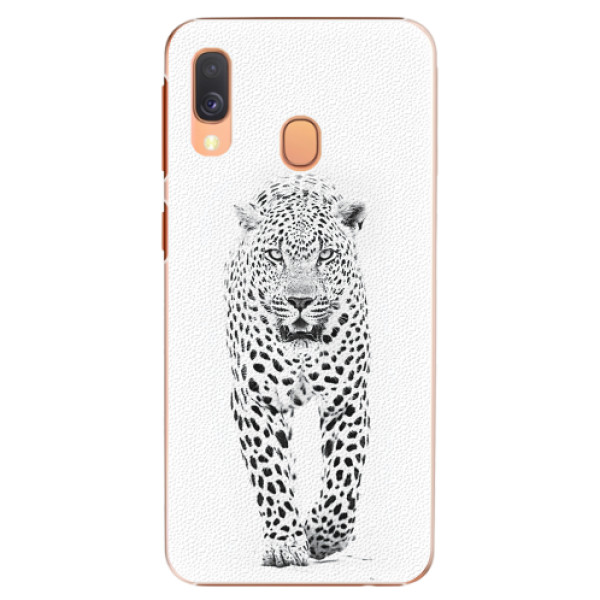 Plastové pouzdro iSaprio - White Jaguar - Samsung Galaxy A40