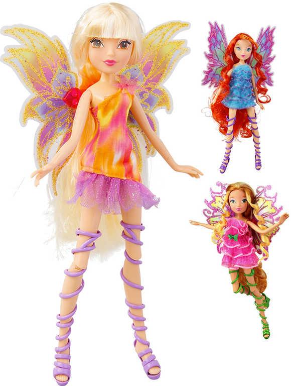 ADC Panenka WinX Mythix Fairy víla kloubová pohyblivá křídla - 6 druhů