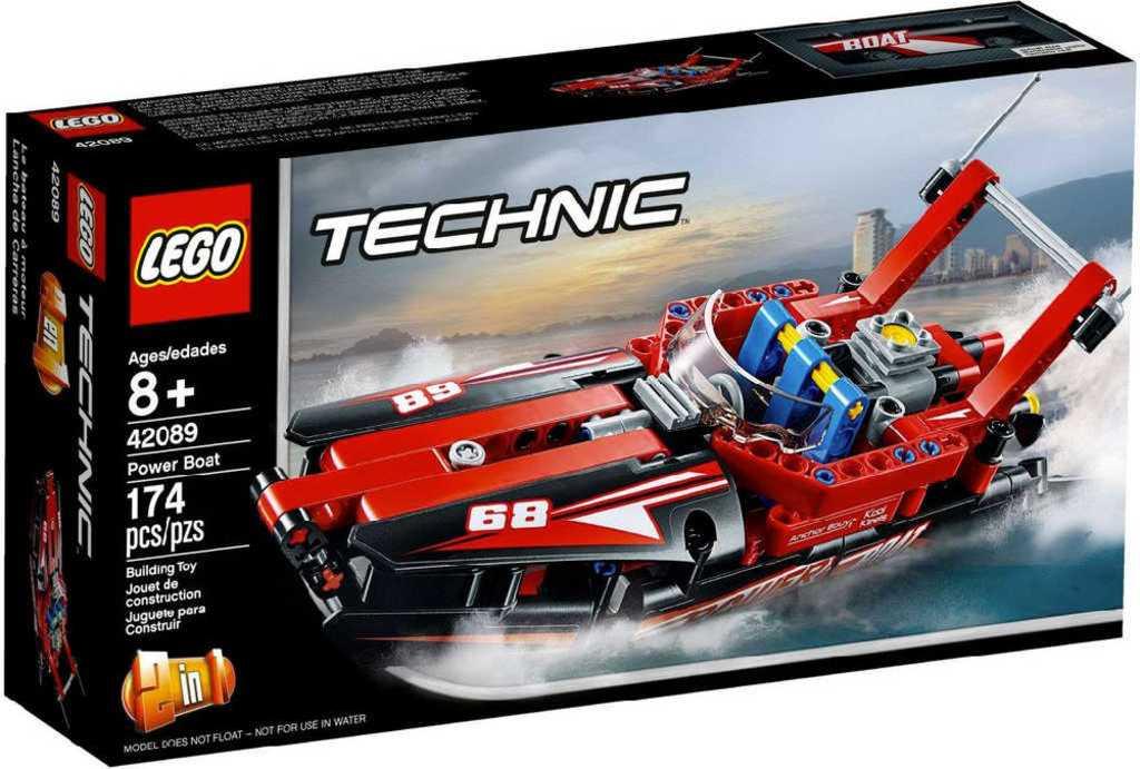 LEGO TECHNIC Motorový člun 2v1 42089