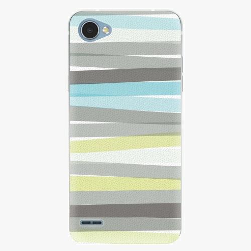 Plastový kryt iSaprio - Stripes - LG Q6