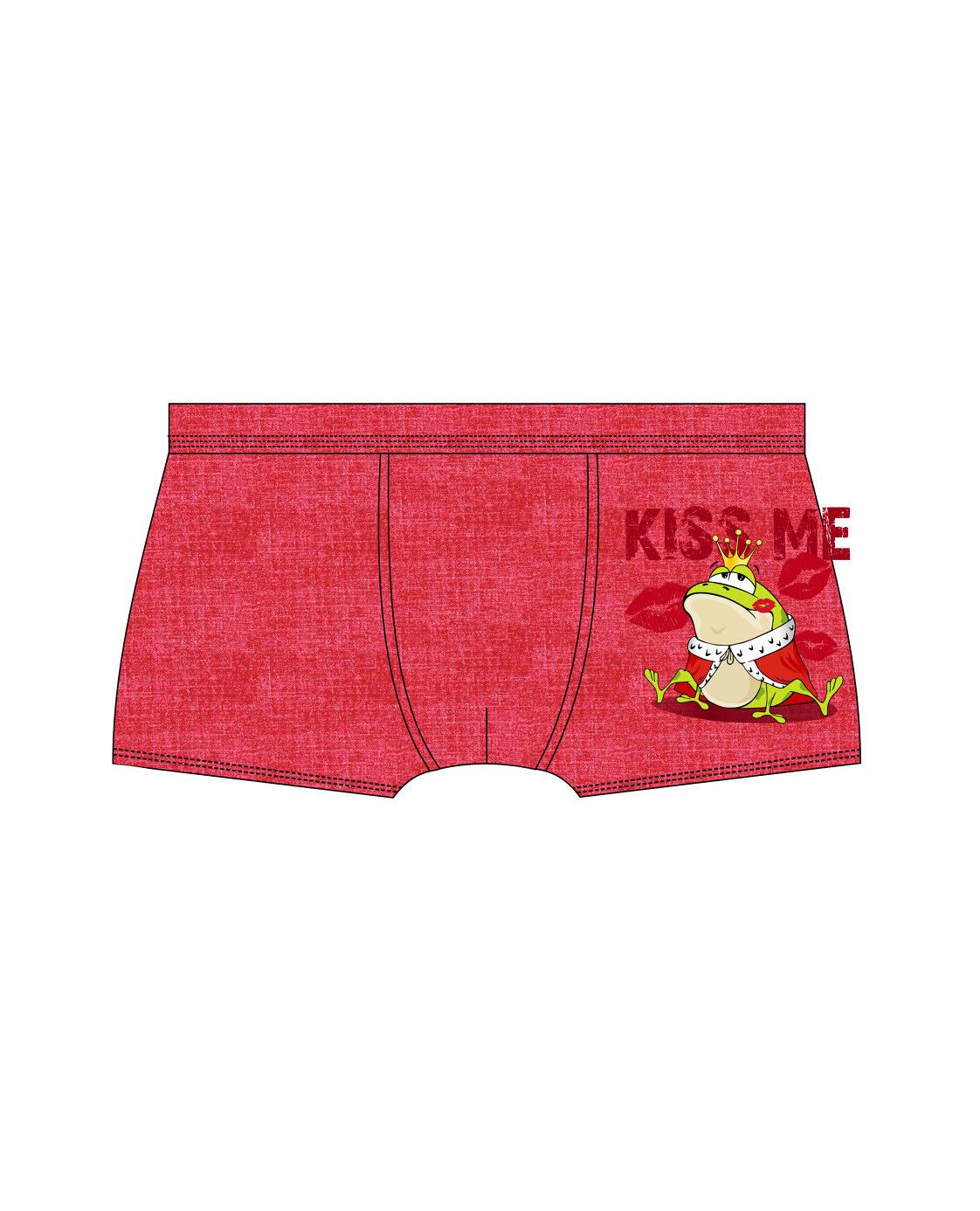 Pánské valentýnské boxerky Cornette 010/55 Kiss Me