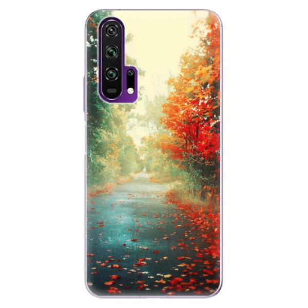Odolné silikonové pouzdro iSaprio - Autumn 03 - Honor 20 Pro