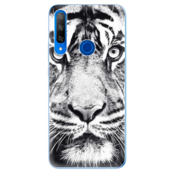 Odolné silikonové pouzdro iSaprio - Tiger Face - Huawei Honor 9X