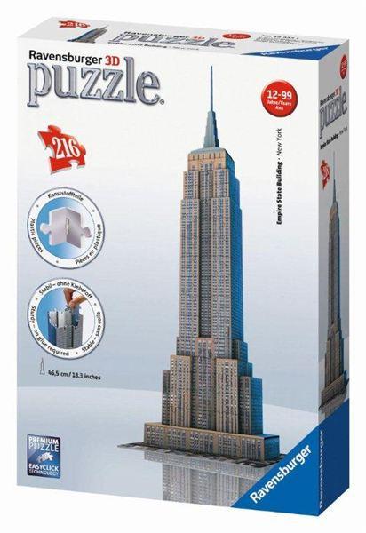 RAVENSBURGER Puzzle 3D Empire State B.3D