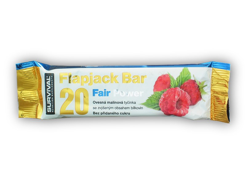 Flapjack Bar 20 Fair Power - 40g-malina
