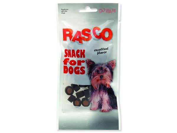 Pochoutka RASCO Dog kolečka lososová 50g
