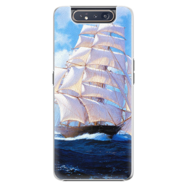 Plastové pouzdro iSaprio - Sailing Boat - Samsung Galaxy A80