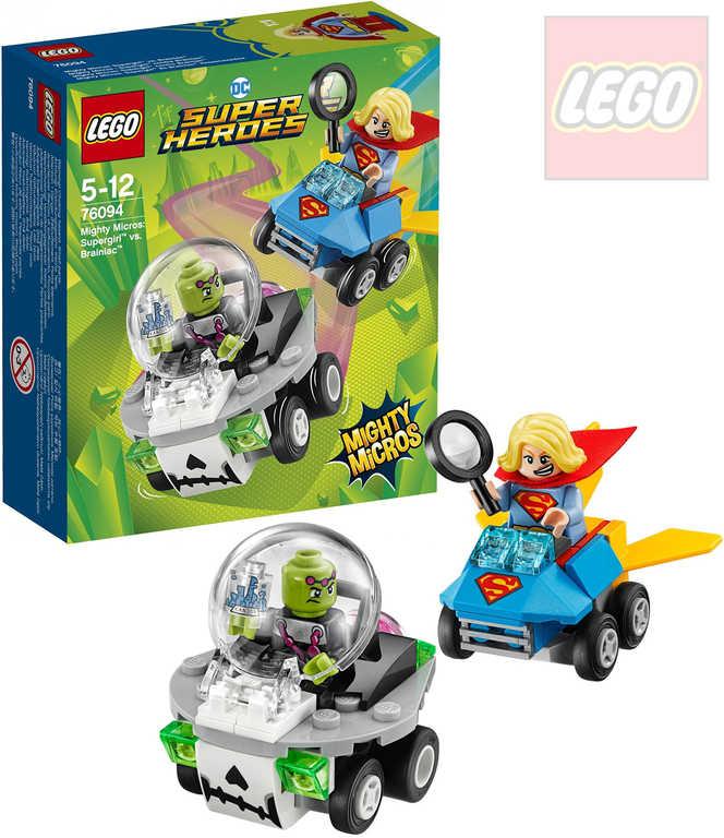 LEGO SUPER HEROES Mighty Micros: Supergirl vs. Brainiac STAVEBNICE 76094