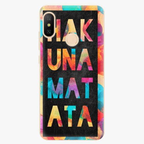 Silikonové pouzdro iSaprio - Hakuna Matata 01 - Xiaomi Mi A2 Lite