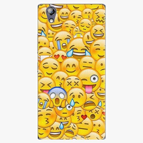 Plastový kryt iSaprio - Emoji - Lenovo P70