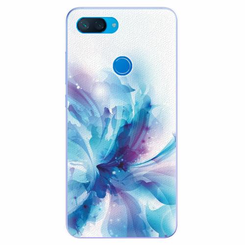 Silikonové pouzdro iSaprio - Abstract Flower - Xiaomi Mi 8 Lite