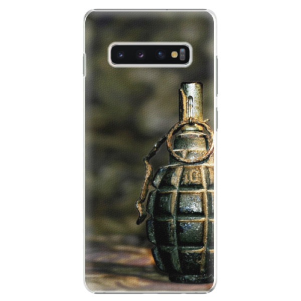 Plastové pouzdro iSaprio - Grenade - Samsung Galaxy S10+