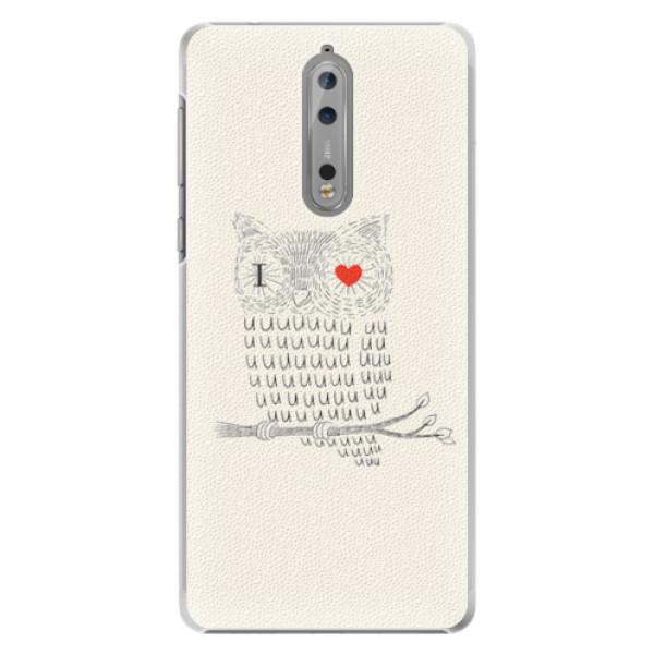 Plastové pouzdro iSaprio - I Love You 01 - Nokia 8