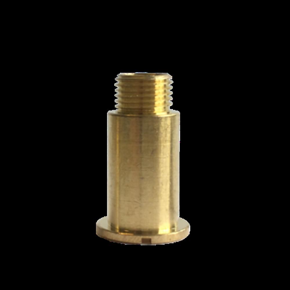 Mosazný fixační šroub hodinového strojku UTS 21 mm