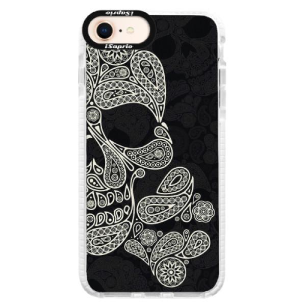 Silikonové pouzdro Bumper iSaprio - Mayan Skull - iPhone 8