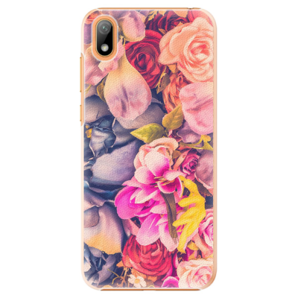 Plastové pouzdro iSaprio - Beauty Flowers - Huawei Y5 2019