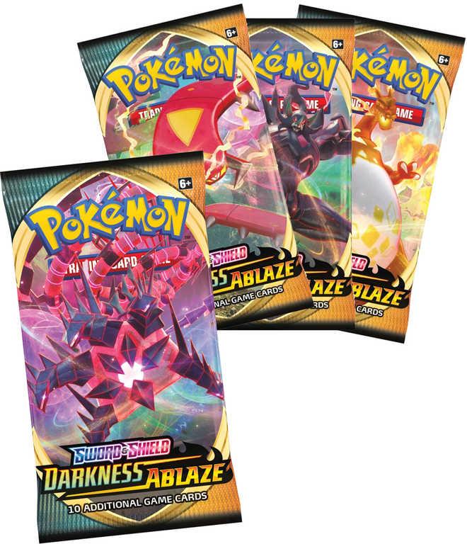 ADC HRA Pokémon Sword & Shield 3: Darkness Ablaze rozšíření booster set 10 karet
