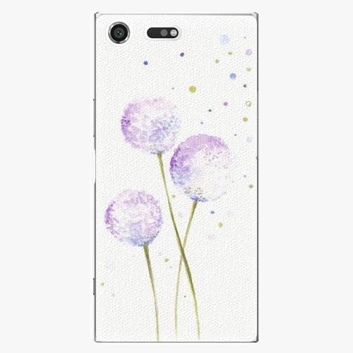 Plastový kryt iSaprio - Dandelion - Sony Xperia XZ Premium
