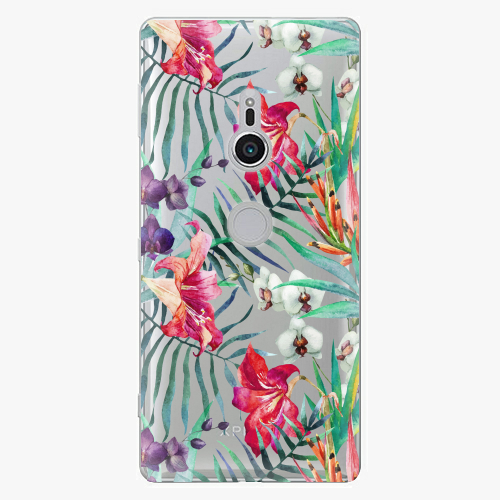 Plastový kryt iSaprio - Flower Pattern 03 - Sony Xperia XZ2