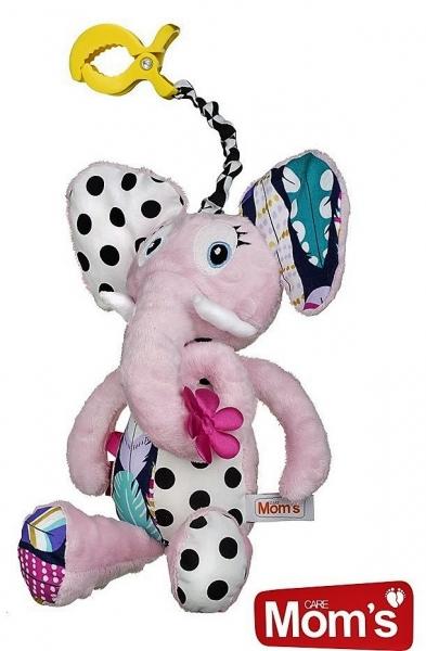 hencz-toys-edukacni-hracka-hencz-s-piskatkem-slonik-ruzovy