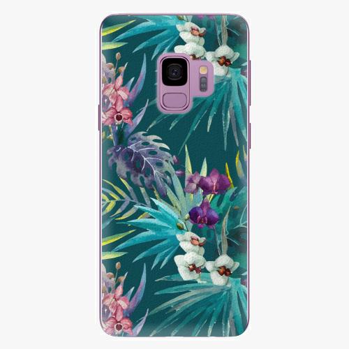 Plastový kryt iSaprio - Tropical Blue 01 - Samsung Galaxy S9