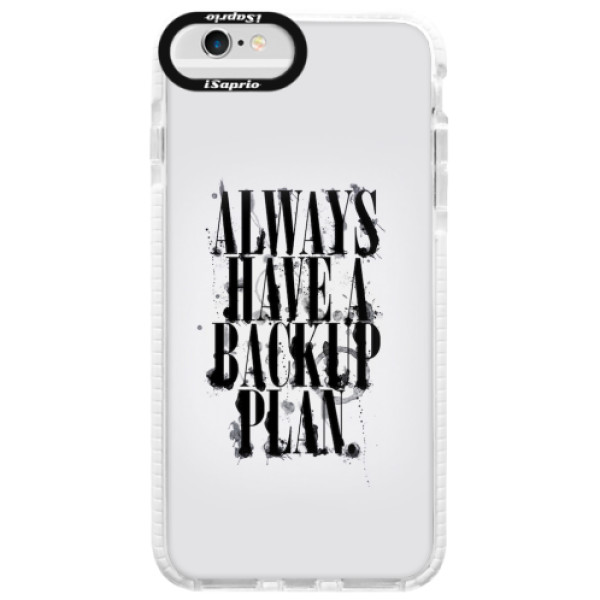 Silikonové pouzdro Bumper iSaprio - Backup Plan - iPhone 6/6S