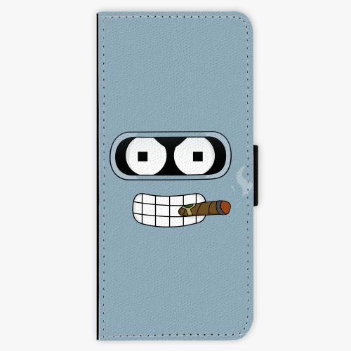 Flipové pouzdro iSaprio - Bender - Samsung Galaxy J3 2016