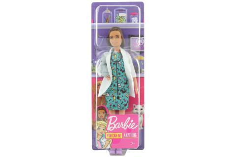 Barbie První povolání - veterinářka O/S GJL63