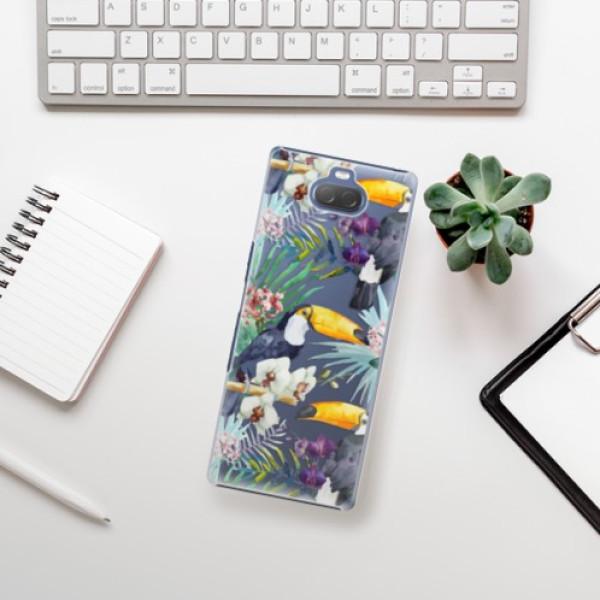 Plastové pouzdro iSaprio - Tucan Pattern 01 - Sony Xperia 10