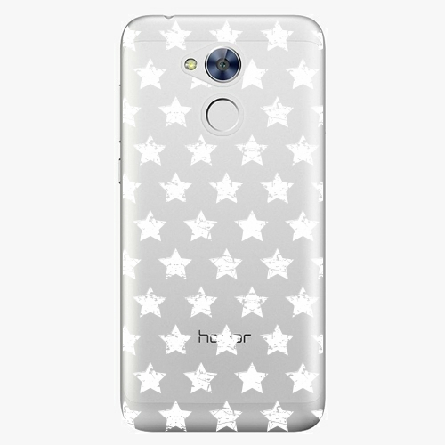 Plastový kryt iSaprio - Stars Pattern - white - Huawei Honor 6A