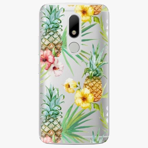 Plastový kryt iSaprio - Pineapple Pattern 02 - Lenovo Moto M