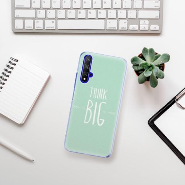 Plastové pouzdro iSaprio - Think Big - Huawei Honor 20