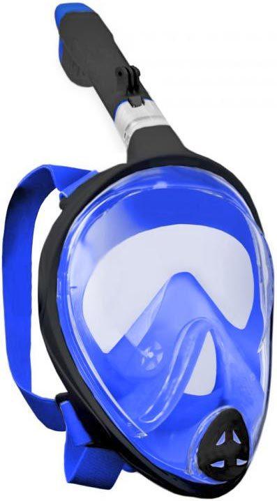 SEDCO GoProAD potápěčská maska celoobličejová se šnorchlem do vody modrá