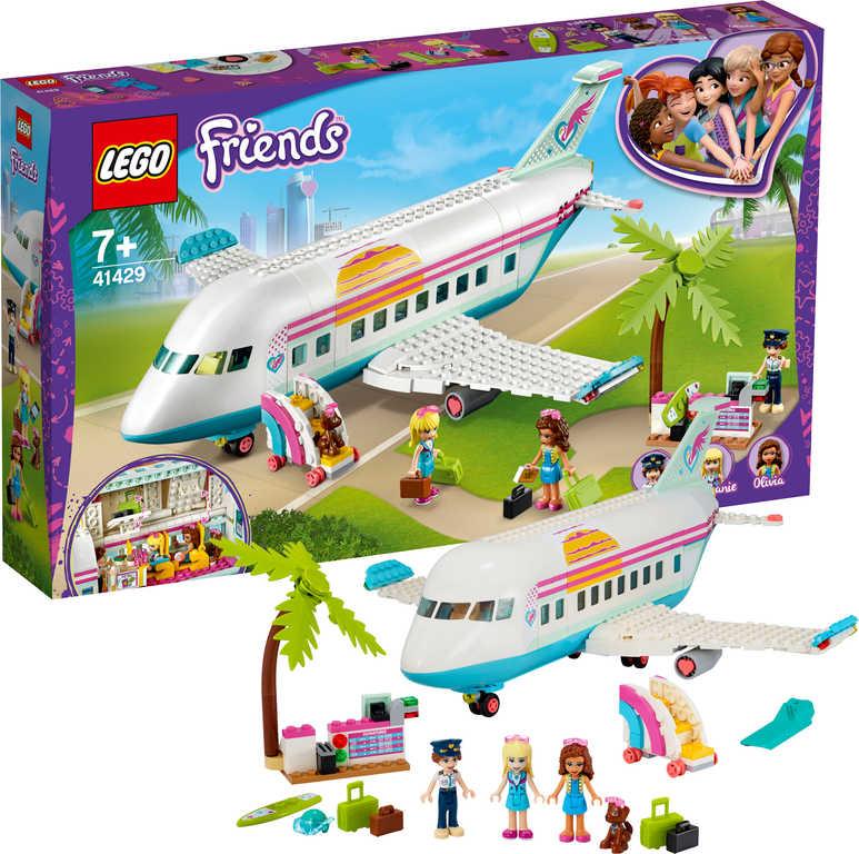 LEGO FRIENDS Letadlo z městečka Heartlake 41429 STAVEBNICE