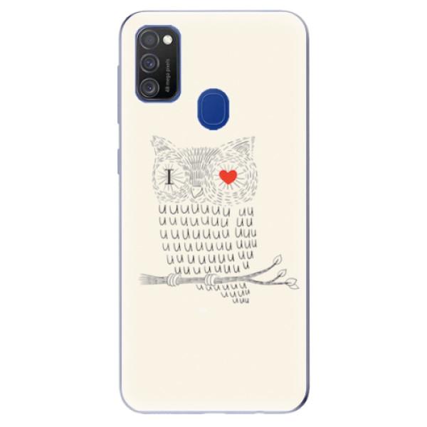 Odolné silikonové pouzdro iSaprio - I Love You 01 - Samsung Galaxy M21