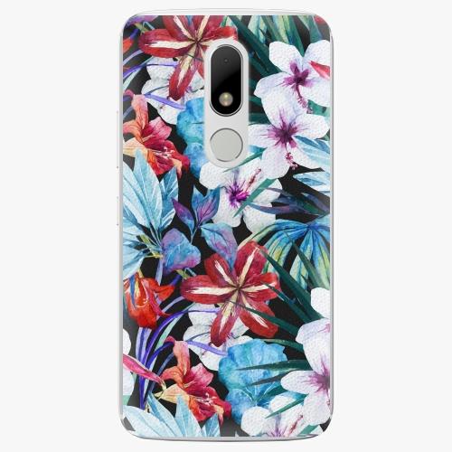 Plastový kryt iSaprio - Tropical Flowers 05 - Lenovo Moto M