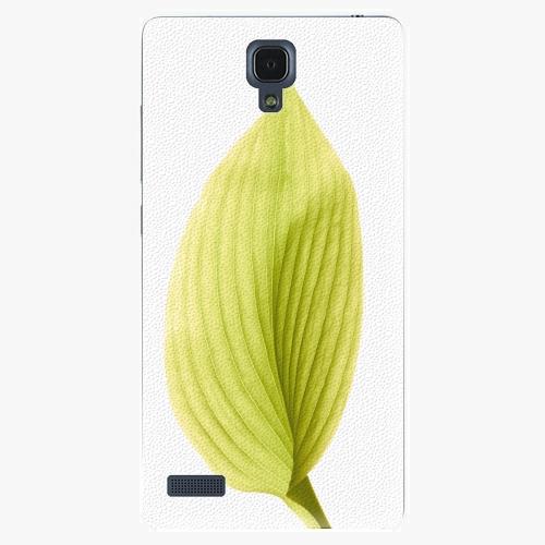 Plastový kryt iSaprio - Green Leaf - Xiaomi Redmi Note