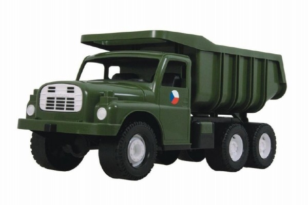 auto-tatra-148-plast-73cm-v-krabici-khaki-vojenska