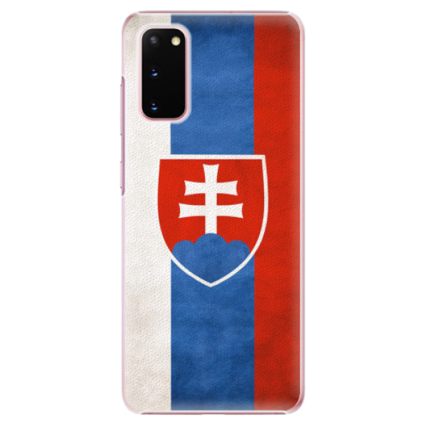 Plastové pouzdro iSaprio - Slovakia Flag - Samsung Galaxy S20