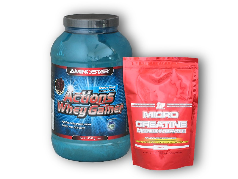 Actions Whey Gainer 4500g + ATP Creatin