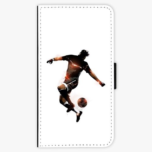 Flipové pouzdro iSaprio - Fotball 01 - Samsung Galaxy S6 Edge