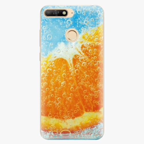 Silikonové pouzdro iSaprio - Orange Water - Huawei Y6 Prime 2018