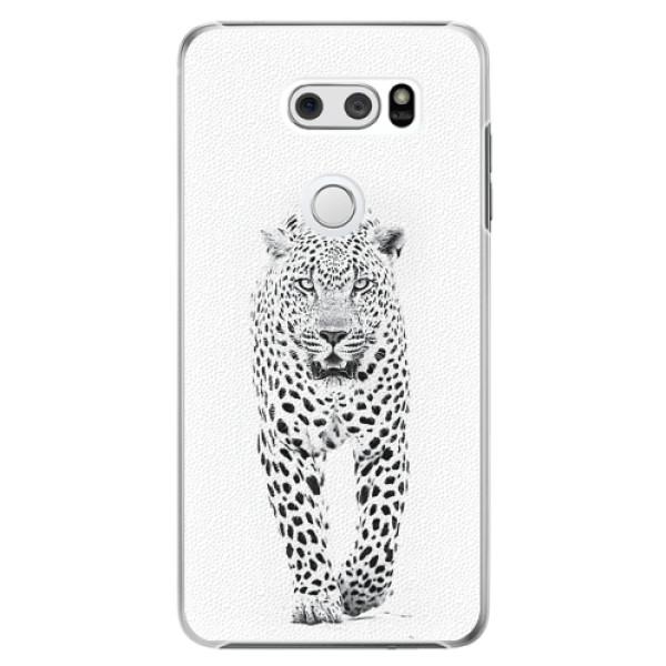 Plastové pouzdro iSaprio - White Jaguar - LG V30