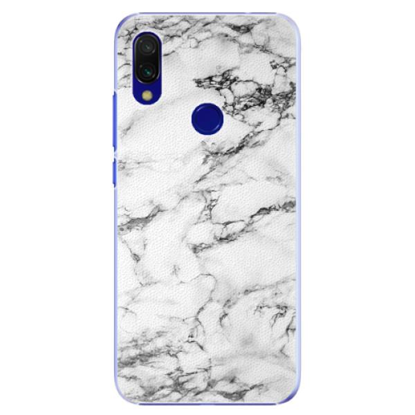 Plastové pouzdro iSaprio - White Marble 01 - Xiaomi Redmi 7