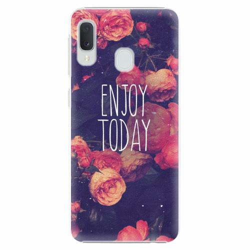 Plastový kryt iSaprio - Enjoy Today - Samsung Galaxy A20e